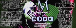 Bones Culture LIVE @ CODAPhilly.com