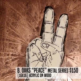 benoaks handG peace metal FLAT